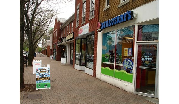 A Frame for Ben and Jerrys in West Hartford, CT.